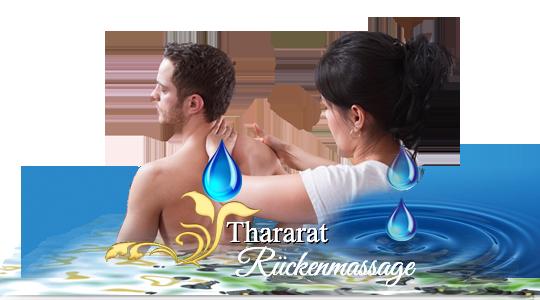Rücken, Nackenmassage in Stutensee bei Thzararat Thai-Massage